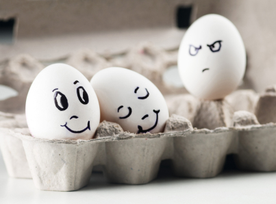 Jealous eggs