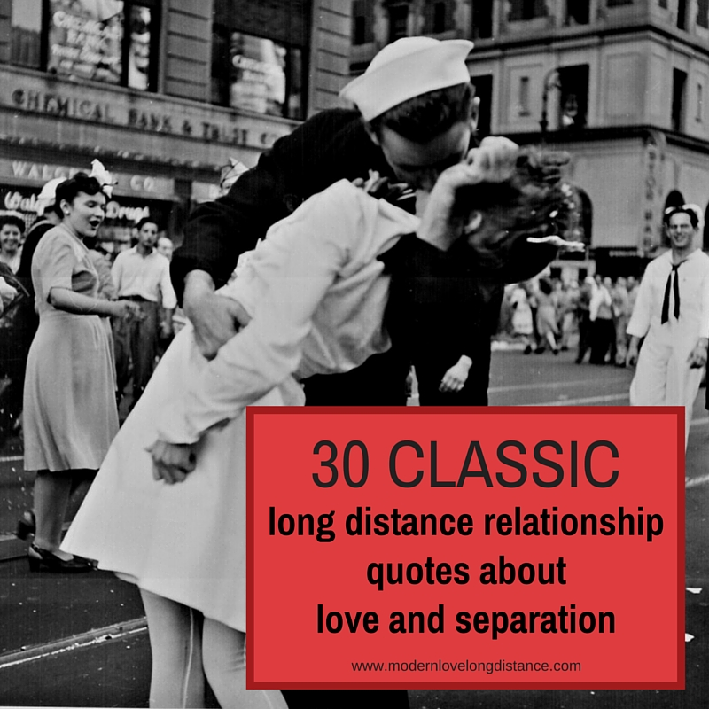 Inspirational Love Quotes For Long Distance Relationships: 30 Classic Long Distance Relationship Quotes About Love
