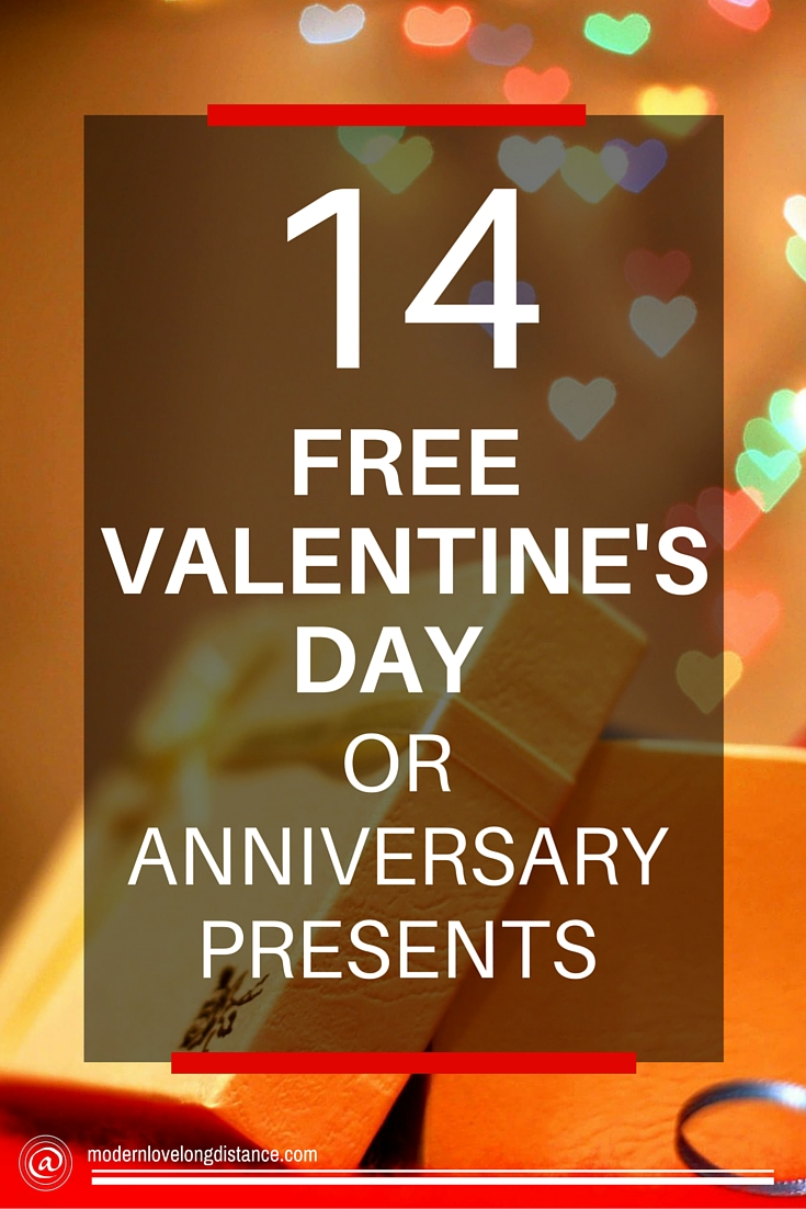 14 Free Valentine S Day Presents Or Anniversary Gifts