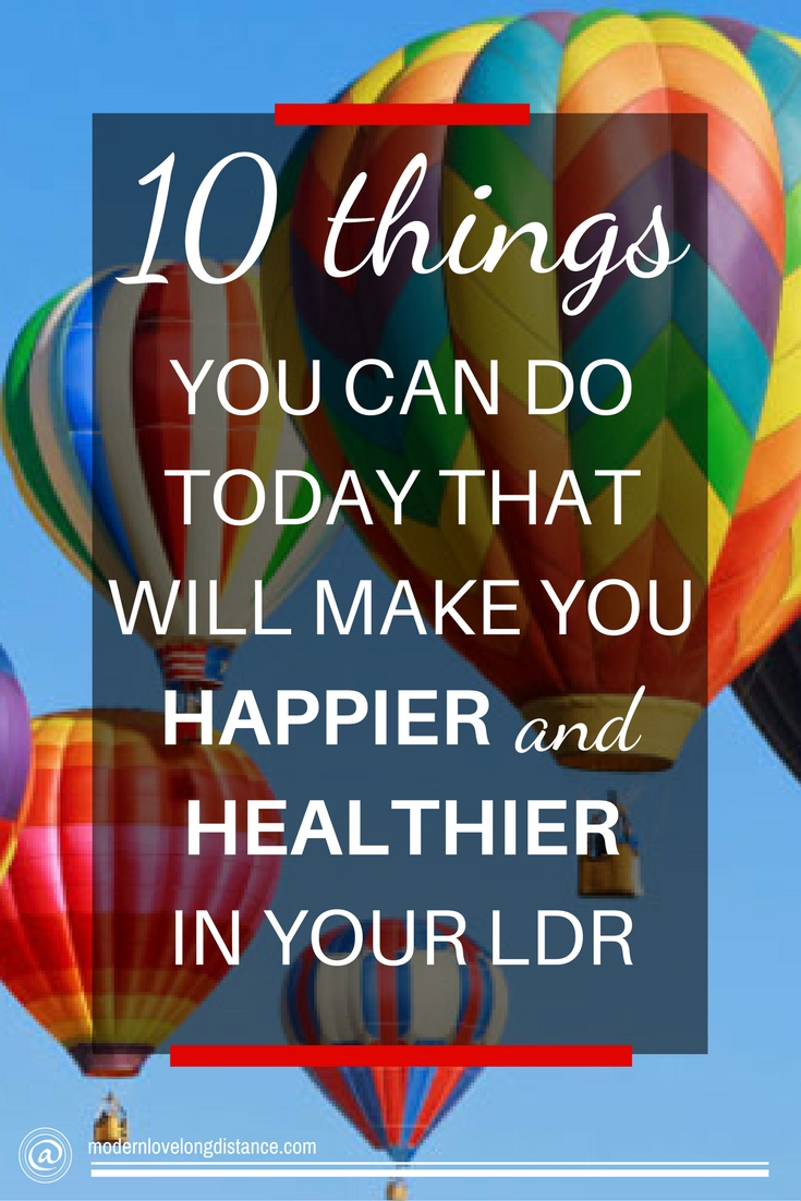 10 Things You Can Do To Make Happier And Healthier In